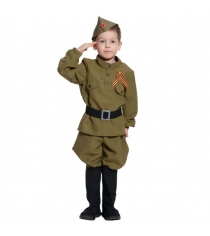 Карнавальный костюм солдатик 116-128 см Карнаволофф