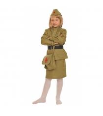 Карнавальный костюм военная медсестра 116-128 см Карнаволофф