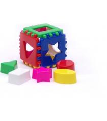 Игрушка сортер кубик логический малый Каролина 40-0011