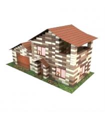 Конструктор из кирпичиков дом с гаражом 490 деталей Каррас 1305кк