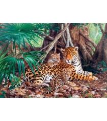 Пазл Кастор 3000 ягуары в джунглях C-300280