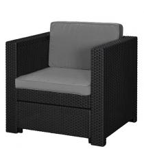 Кресло Прованс графит прохладный серый Keter 17189413