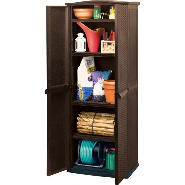 Шкаф под ротанг коричневый Keter 17190092