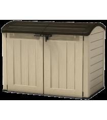 Садовый шкаф Стор ит Аут Ультра бежево коричневый Keter 17199414