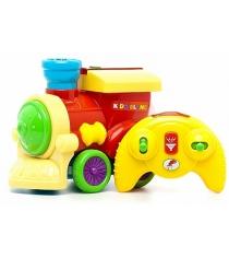 Развивающая игрушка Kiddieland Паровозик с пультом KID 047837