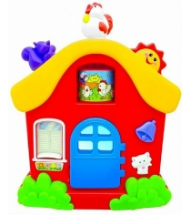 Развивающая игрушка Kiddieland Интерактивный домик KID 051466