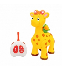 Развивающая игрушка Kiddieland Жираф с пультом упр KID 051714
