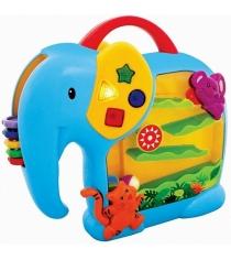 Развивающая игрушка Kiddieland Занимательный слон KID 052167