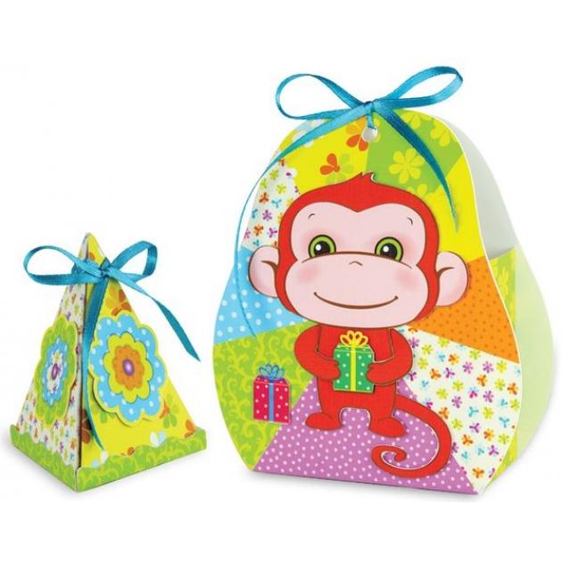 Набор для творчества сюрприз веселая обезьянка Клеvер Р73768