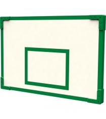 Щит баскетбольный уличный 80х120 см в зеленом оформлении Leco гп024113