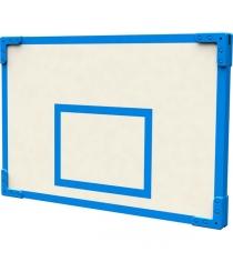 Щит баскетбольный уличный 80х120 см в синем оформлении Leco гп024111