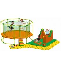 Площадка Puzzle Leco Playground и GigaBloks для батутов