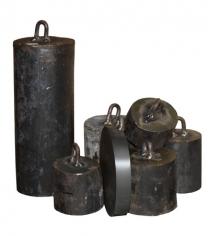 Утяжелительные болванки Leco 25 кг гп001310