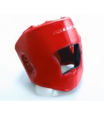 Шлем боксерский Leco красный размер S гп005111