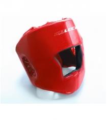 Шлем боксерский Leco красный размер М гп005112