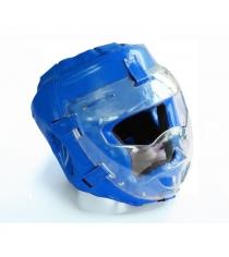 Шлем для рукопашного боя Leco Pro синяя размер L гп005217
