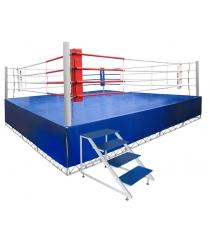 Ринг боксерский Leco с помостом гп59-23