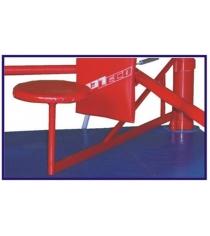Поворотные сидения на ринг Leco на помосте 500х500 см гп59-34