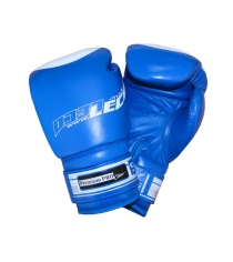 Перчатки боксерские Leco Premium Pro синие 10 унций т00207