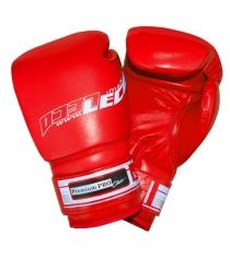 Перчатки боксерские Leco 12 унций красные Premium Pro т00209