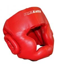 Шлем боксерский Leco красный размер S т005001
