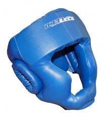 Шлем боксерский Leco синий размер S т005004