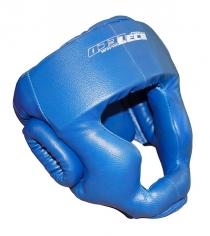 Шлем боксерский Leco синий размер L т005006