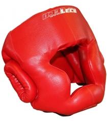 Шлем боксерский Leco красный размер XL т005007
