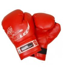 Перчатки боксерские Leco Profi 6 унций т007-01