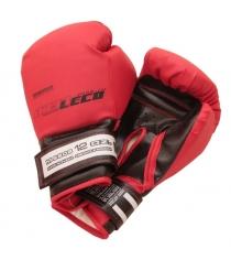 Перчатки боксерские Leco красные 12 унций т007-7