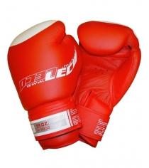 Перчатки боксерские Leco Pro красные 8 унций т8-1