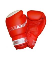 Перчатки боксерские Leco Pro красные 10 унций т8-3