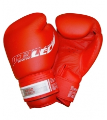 Перчатки боксерские Leco Pro красные 12 унций т8-5