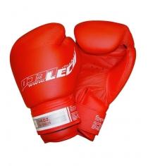 Перчатки боксерские Leco Pro красные 14 унций т8-7