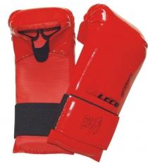 Перчатки спарринговые Leco красные размер S т9-3