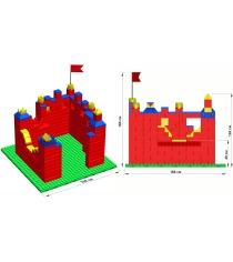 Крепость Leco GigaBloks 10 M на платформе 28х28 гп226552