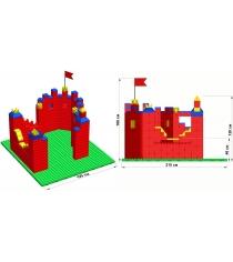 Крепость Leco GigaBloks 10 L на платформе 32х35 гп226553