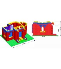 Дворец Leco GigaBloks 10 L на платформе 48х56 гп226583