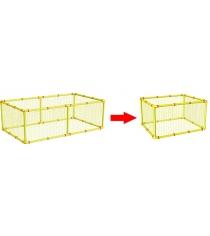 Дополнительная сетка для манежа Leco 100х125 гп230141