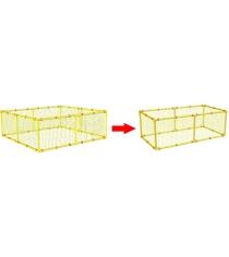 Дополнительная сетка для манежа Leco 100х200 гп230143