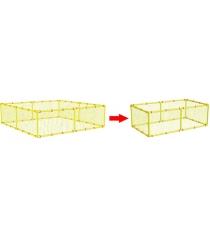 Дополнительная сетка для манежа Leco 125х250 гп230144