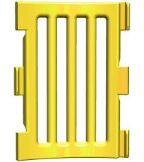 Панель модульного манежа для внутреннего угла Leco гп230220