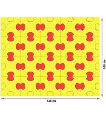 Пазловое дно для манежа Leco 100х125 см гп230721