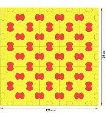 Пазловое дно для манежа Leco 125х125 см гп230722