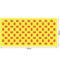Пазловое дно для манежа Leco 125х250 см гп230725