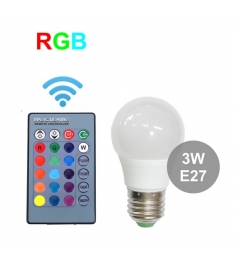 Лампа R GigaBloks 3 Вт E27 с пультом управления