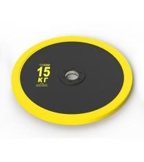 Диск Leco Olimp Pro plus 15 кг гп020630