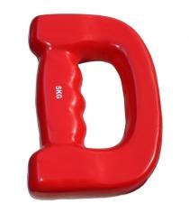 Гантель Leco D-образная 5 кг т020127