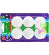 Мячики для настольного тенниса 6 шт Leco 220-000