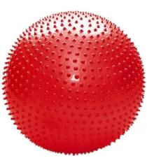 Мяч массажный Leco 75 см красный гп123104